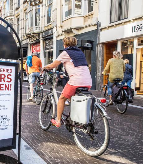 Hoe gaan fietsers en voetgangers het Hofkwartier verdelen?