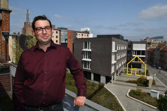 Laurent Goethals was lijsttrekker voor stadslijst Liever Leuven en blijft ook na de gemeenteraadsverkiezingen actief in de Leuvense politiek.