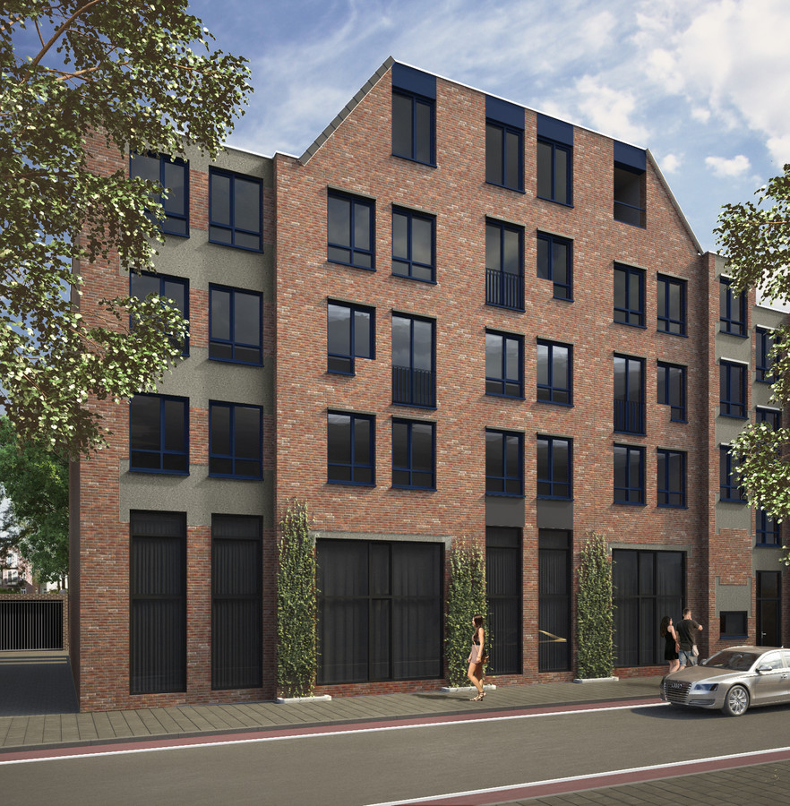 De nieuw te bouwen woningen aan de Pastoor de Kroonstraat