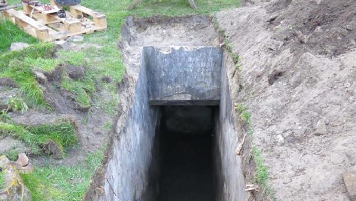 Pardoes een bunker in je eigen tuin aantreffen: dat overkwam de familie Van Koot in IJmuiden.