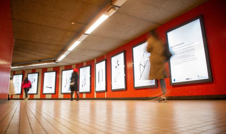 KANAL in metro Ijzer.