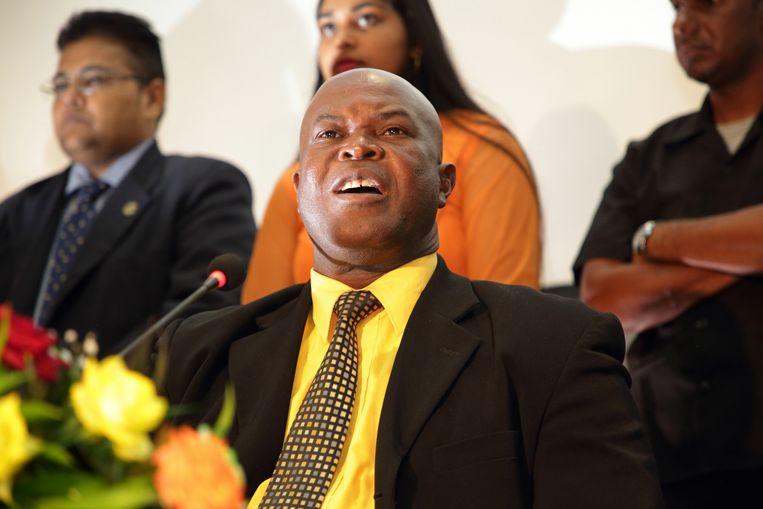 De ABOP van Ronnie Brunswijk is een van de grote winnaars van de verkiezingen. Beeld ANP