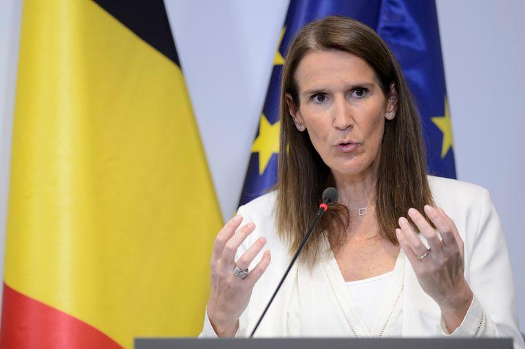 Premier Sophie Wilmès (MR)