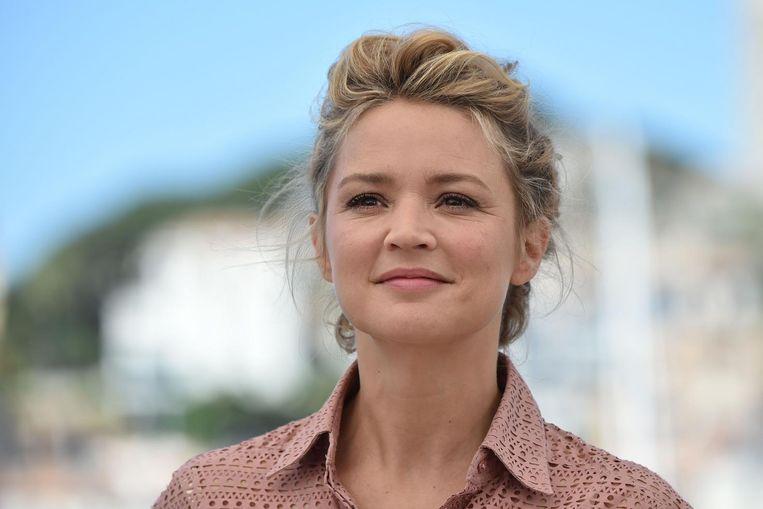 Actrice Virginie Efira in Cannes. Beeld afp