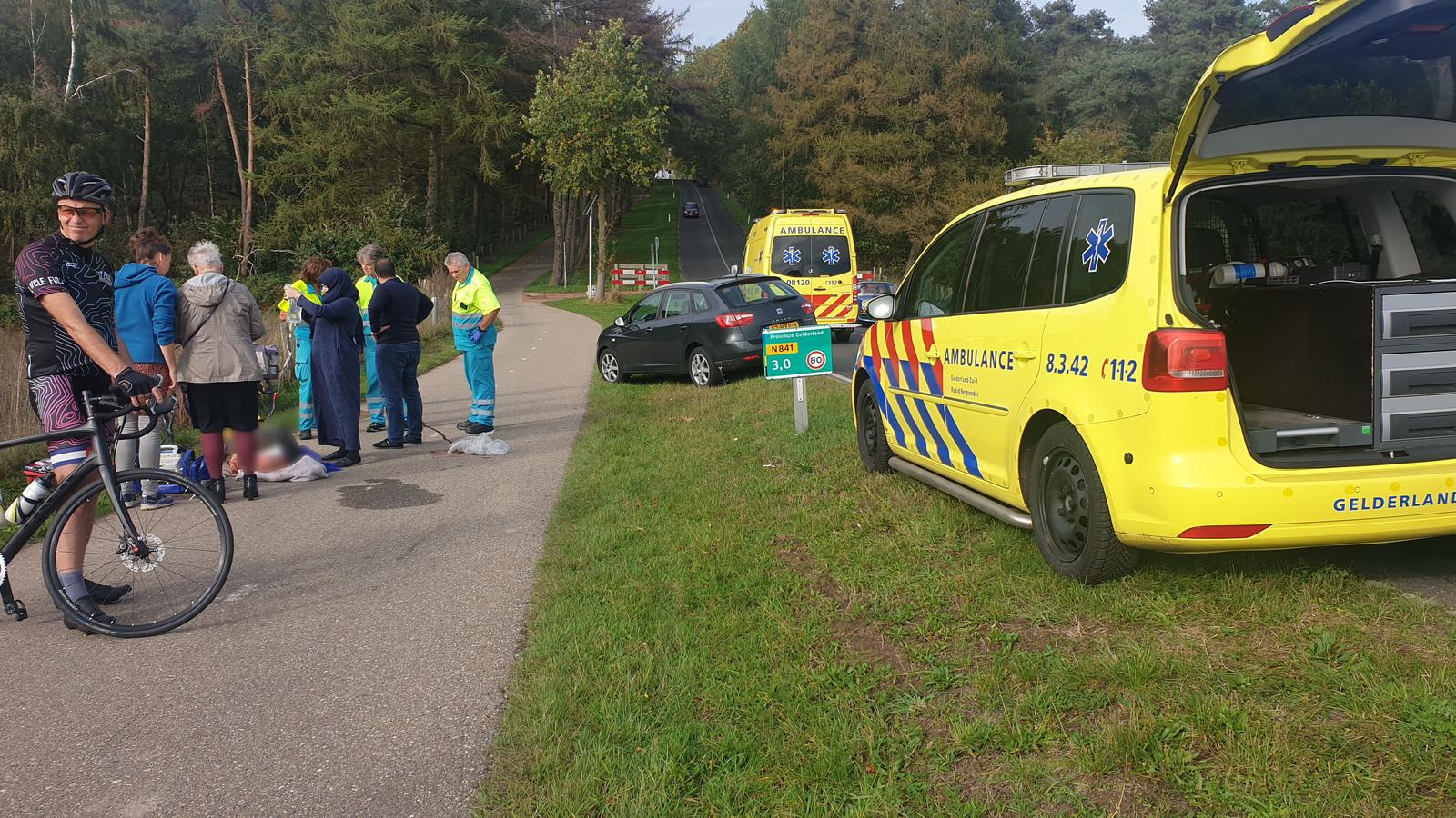 Het slachtoffer krijgt hulp in Groesbeek.