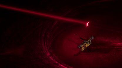 Laserstraal laat eerste draadloze vliegende robotinsect opstijgen