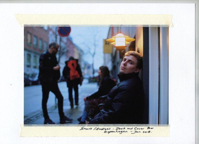 De Deense dancebelofte Andreas Holdø (25), artiestennaam Snav. Beeld null
