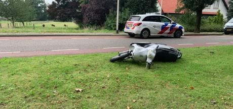Scooterrijder gewond bij aanrijding in Gramsbergen