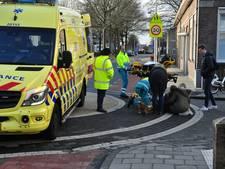 Twee fietssters botsen op elkaar bij kruising Baardwijksestraat in Waalwijk