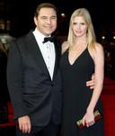Lara Stone met ex David Walliams.