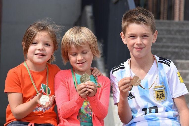 Na de proeflessen pakt Zottegem Atletiek uit met een Kids Olympics.