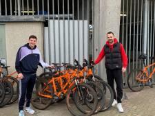 Mountainbike voor spelers van Willem II
