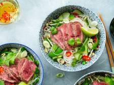 Wat Eten We Vandaag: Vietnamese noedelsalade met rundvlees