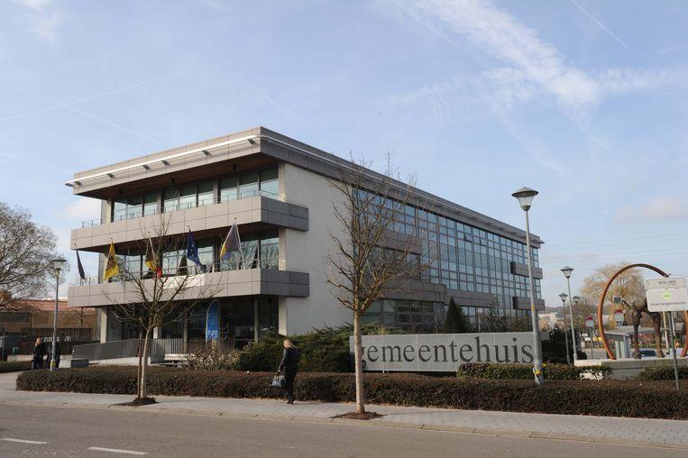 Het gemeentehuis van Machelen.