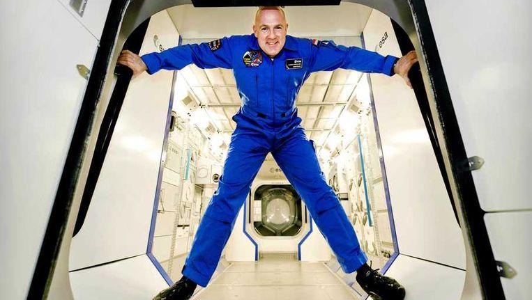 André Kuipers in de Space Expo Beeld anp