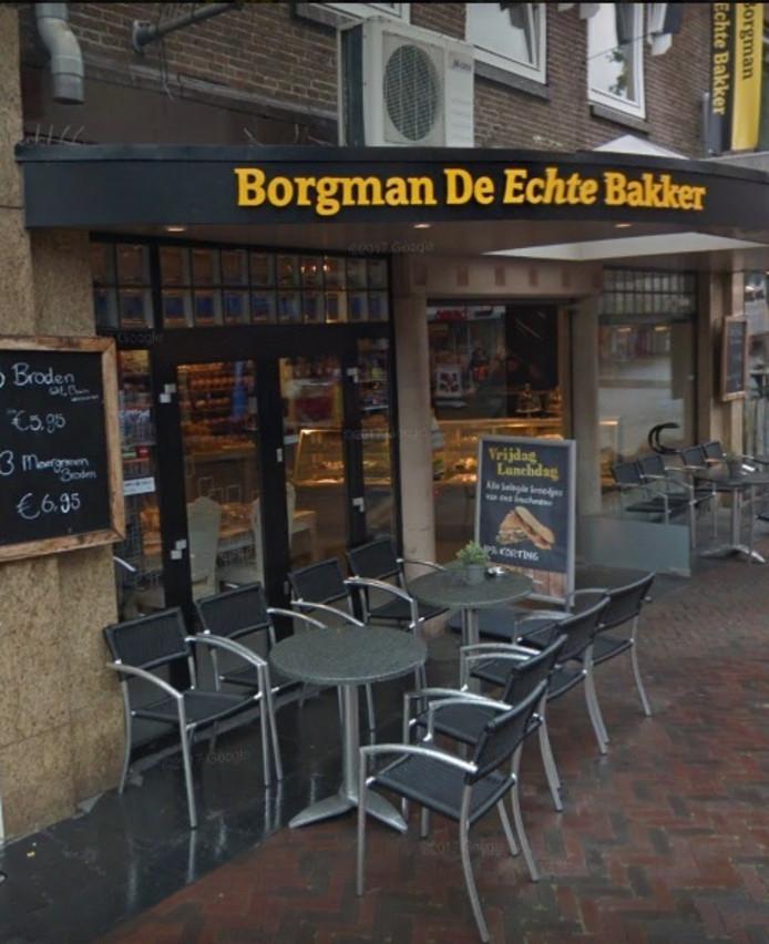 Bakkerij Borgman gevestigd aan de Voorstraat in Hardenberg