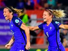 Frankrijk sleept met tien vrouwen gelijkspel uit het vuur