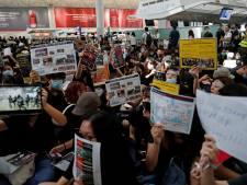 Actievoerders Hongkong leggen zelfs luchthaven plat