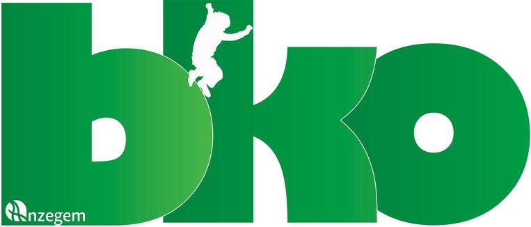 Het logo van de buitenschoolse kinderopvang in Anzegem.
