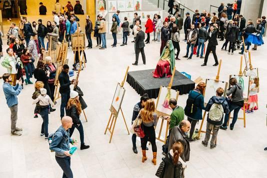 Het hele weekend zijn er gratis workshops te volgen in het museum