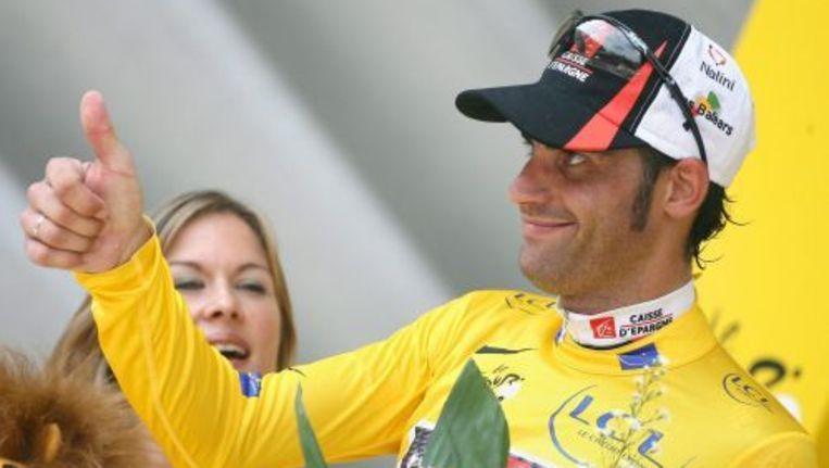 Oscar Pereiro tijdens de Tour de France van 2006. ANP Beeld