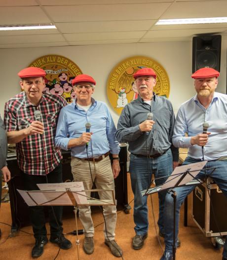 Keiegalmers uit Helmond bestaan 55 jaar: 'We leken wel The Beatles'
