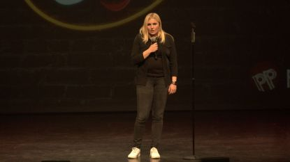 VIDEO. Zo grappig is Amelie Albrecht, de winnares van Humo's Comedy Cup