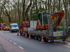 Breuk waterleiding in Oosterbeek: huizen urenlang zonder water