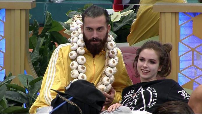 José María en Carlota in 'Gran Hermano'.