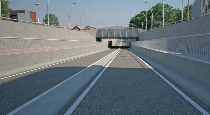 De Harselaartunnel opende in februari voor verkeer.