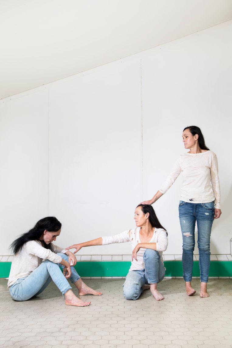 Annelies, Angelique en Liesbeth. Beeld Eva Roefs