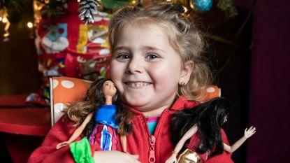 Kerstman trekt dankzij HLN-lezers vervroegd naar Cor (4) in Sint-Truiden: meisje beleeft nu al onvergetelijke kerst