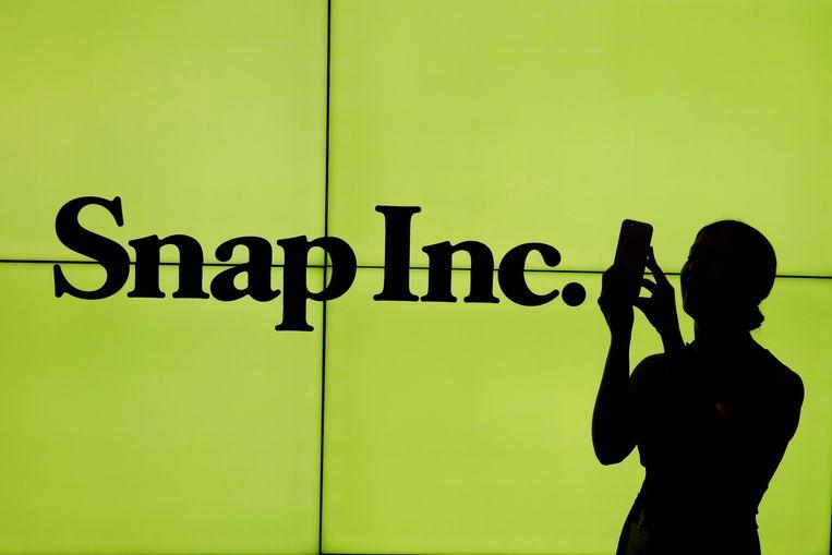 Snap Inc. is het moederbedrijf van Snapchat Beeld REUTERS