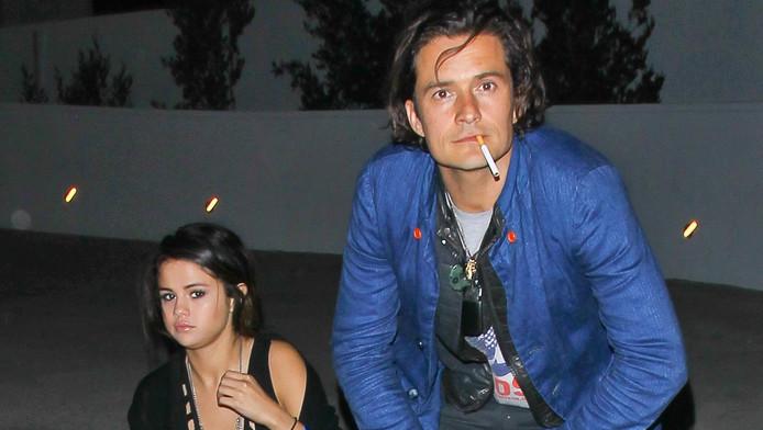 Orlando Bloom photographié avec Selena Gomez, l'ex de Justin Bieber, en avril dernier