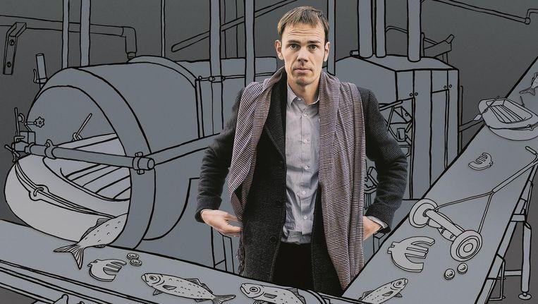 Luuk van Middelaar: 'Al het goede kwam uit de Brusselse regelfabriek' Beeld Gees Voorhees