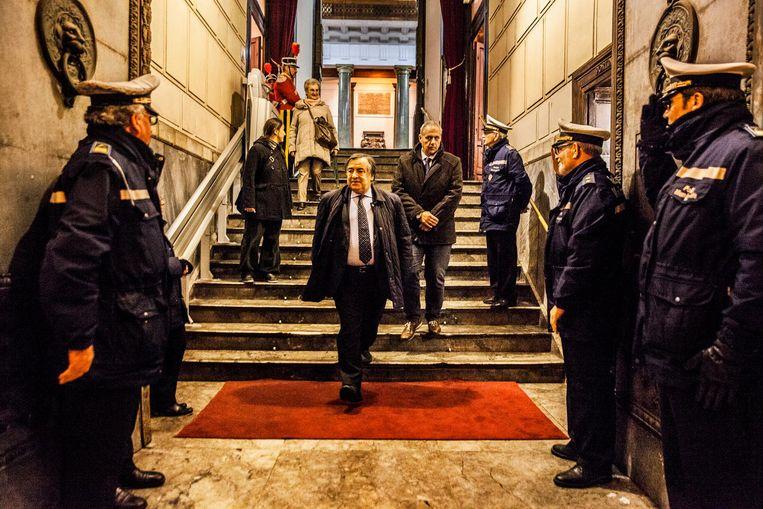 'De maffia bestaat nog steeds, maar ze heeft geen politieke macht meer.' Beeld Aurélie Geurts