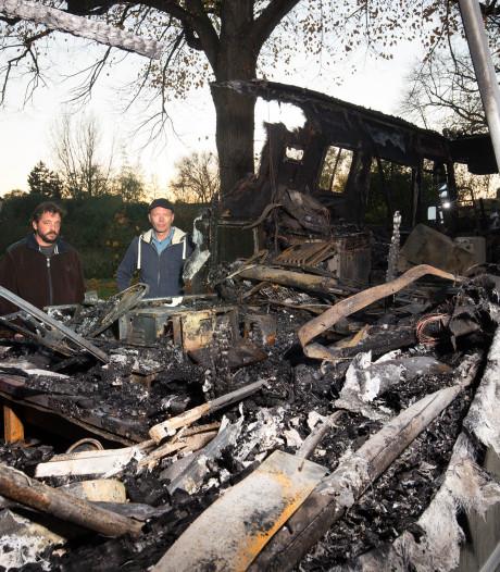 Na brand in camper is Pim (42) uit Zeddam écht alles kwijt