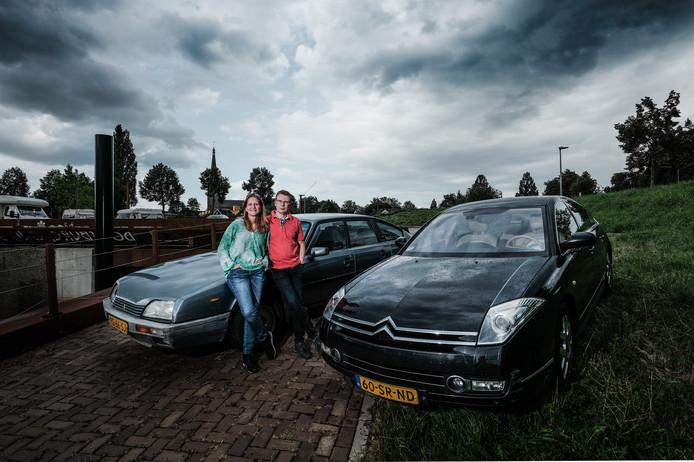 Arleen Vaags en Maico Hubers zijn gek op Citroëns.