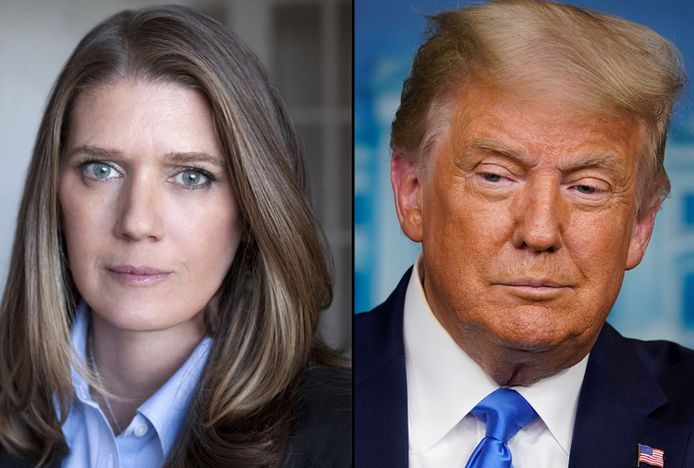 Mary Trump en haar oom, de Amerikaanse president Donald Trump.