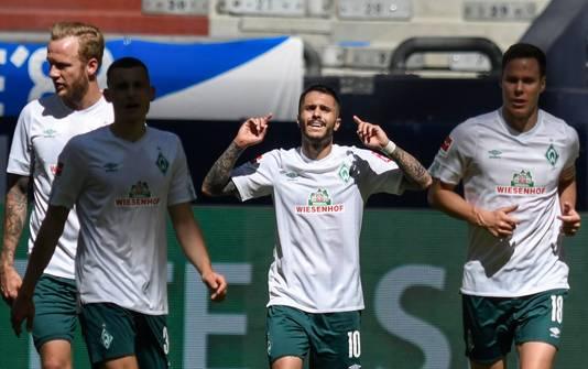Bittencourt was de matchwinner namens Werder Bremen.