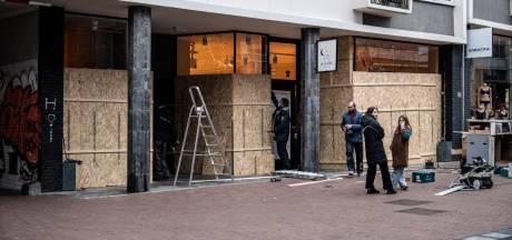 Nijmeegse binnenstad leeg en verlaten: 'Stad is nog steeds van ons en niet van dat tuig'