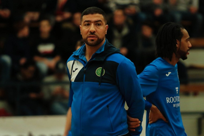 Groene Ster-coach Samir Yaaqobi.