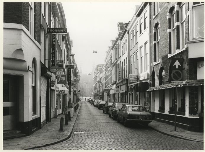 De Herenstraat in 1987.