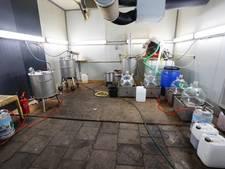 Drugslab Brabant produceerde honderden kilo's drugs per dag
