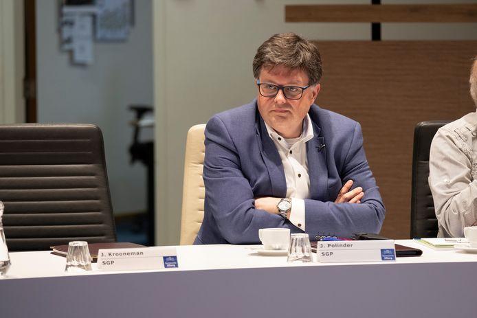 Jan Polinder schoof woensdagavond weer aan bij de gemeenteraad van Elburg.
