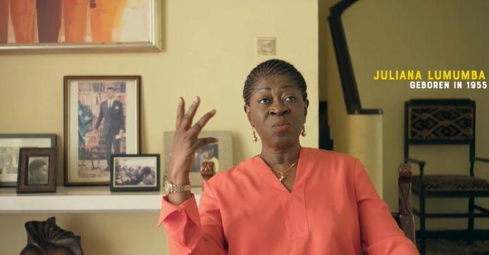 Juliana Lumumba in de derde aflevering van 'Kinderen van de Kolonie'