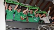 Eerst op kroegentocht met Green Army, dan supporteren voor Marke-Webis Wevelgem