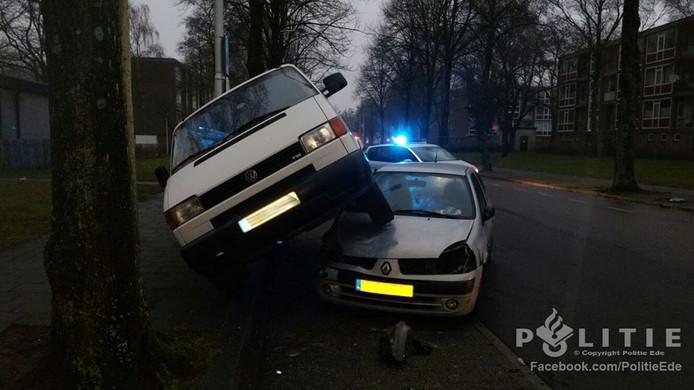 Het ongeval gebeurde omstreeks 08.30 uur.