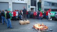 Na ontslag bij Econocom voert vakbondsman vanuit mobilhome actie vóór deuren bedrijf