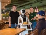 Bliep bliep, smakelijk eten: in dit Nederlandse restaurant bedienen de robots